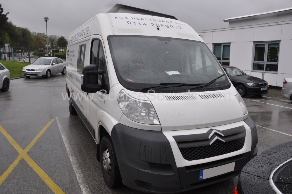 Citroen Relay 2011 DAB upgrade 001