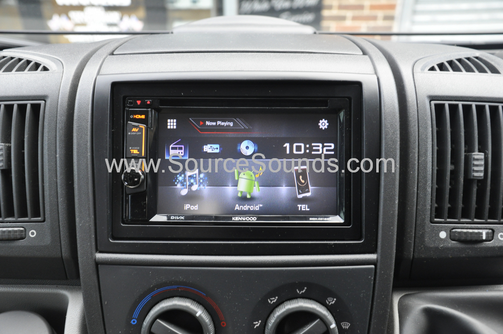 Fiat Ducato Motorhome 2010 screen upgrade 005