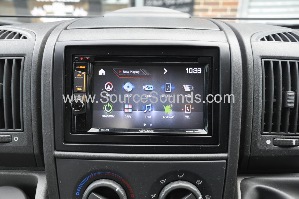 Fiat Ducato Motorhome 2010 screen upgrade 006