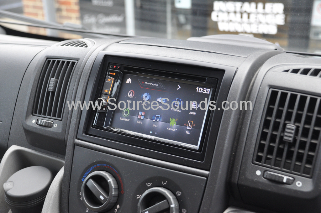Fiat Ducato Motorhome 2010 screen upgrade 007