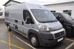 Fiat Ducato Motorhome 2010 screen upgrade 001