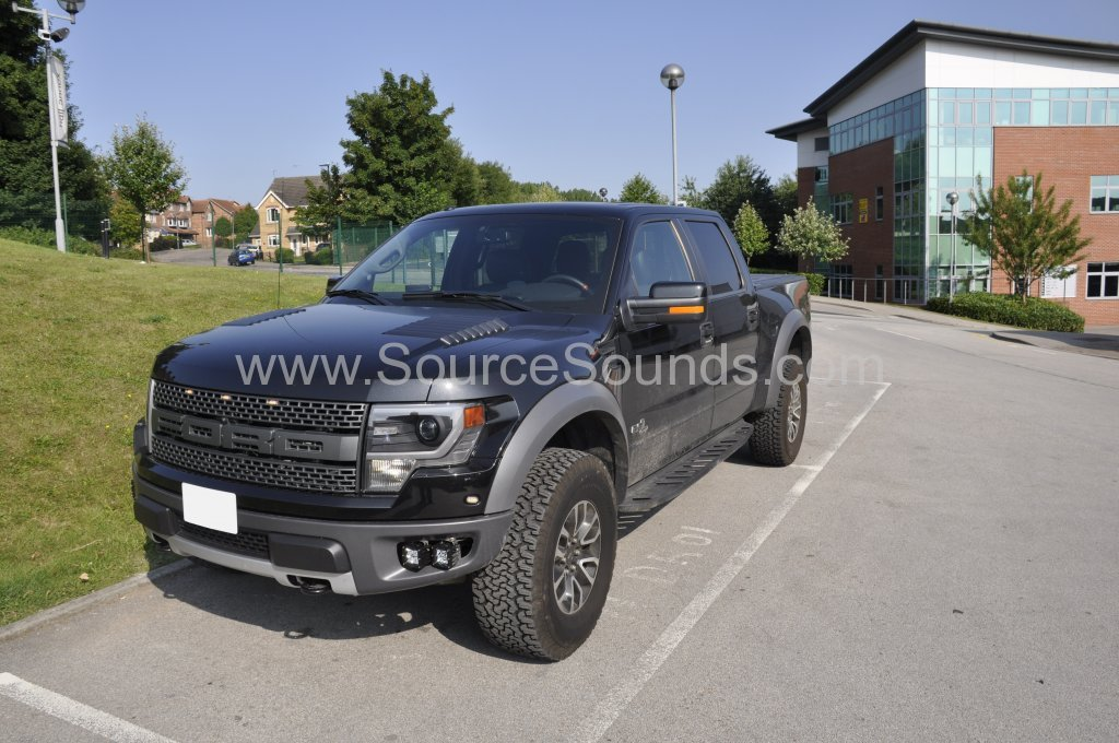 Ford F150 Raptor 2014 audio upgrade 001