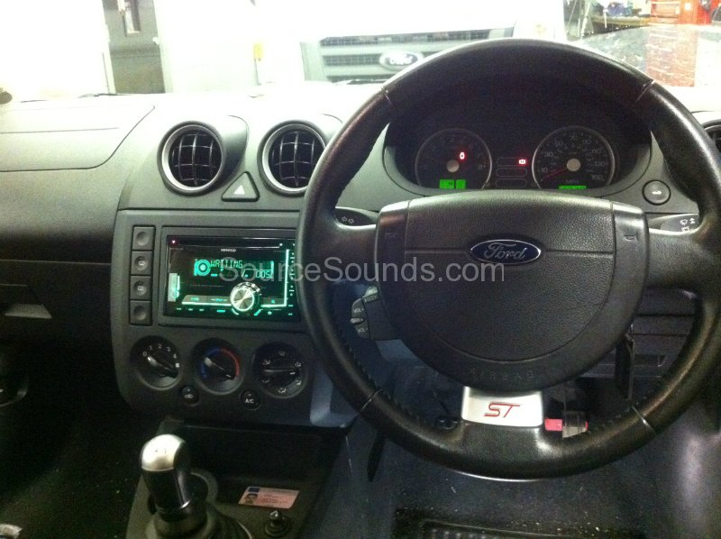 Ford Fiesta 2003 Stereo Upgrade Source Sounds
