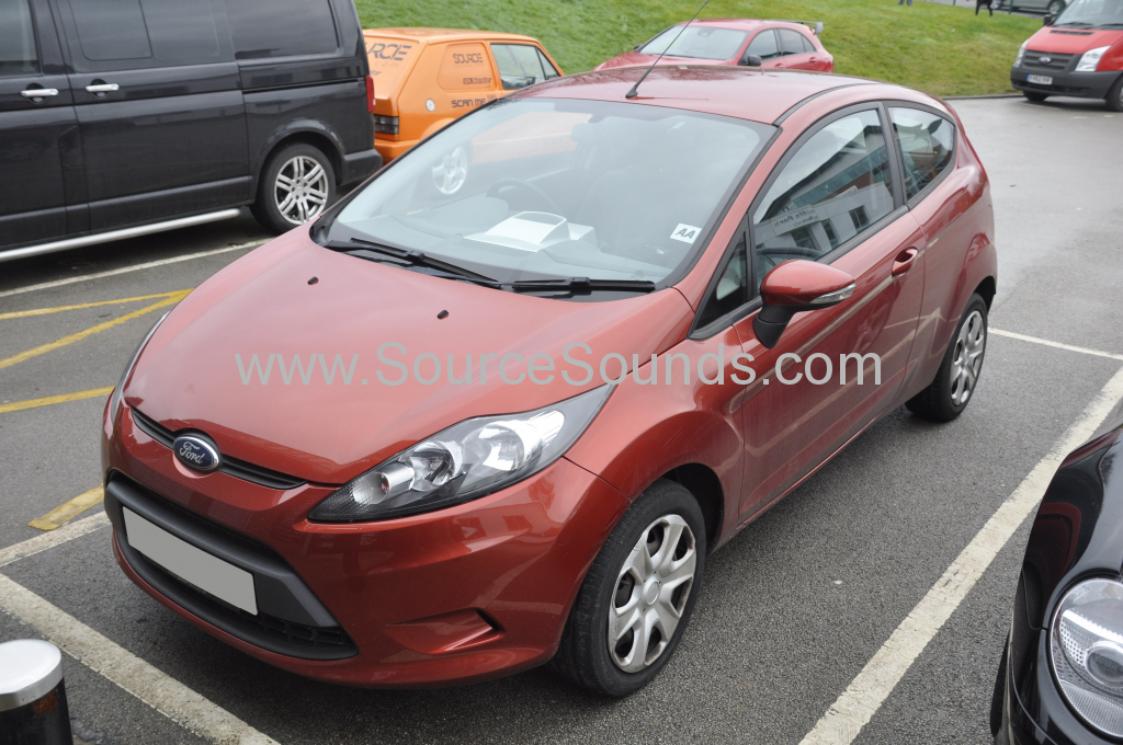 Ford Fiesta 2009 navigation upgrade 001