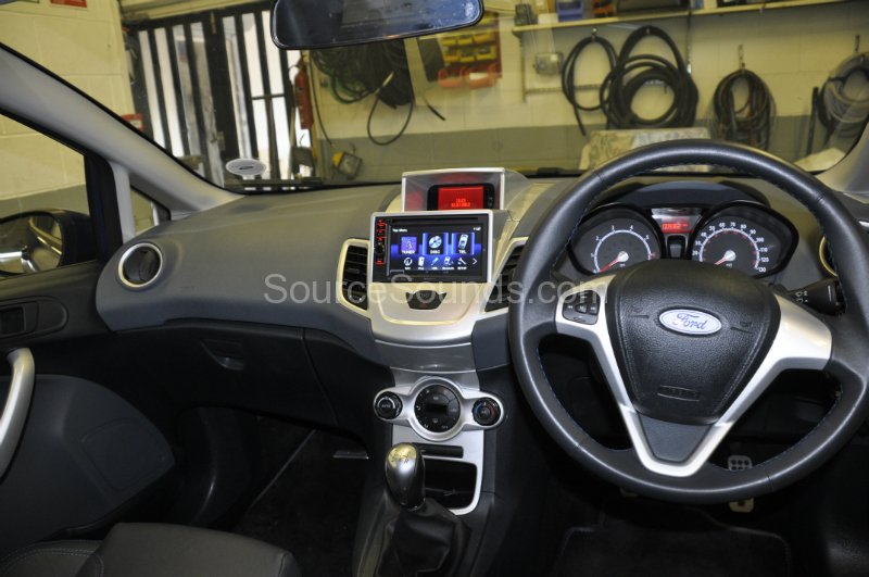 Ford Fiesta St 2011 Double Din Screen Upgrade Source Sounds