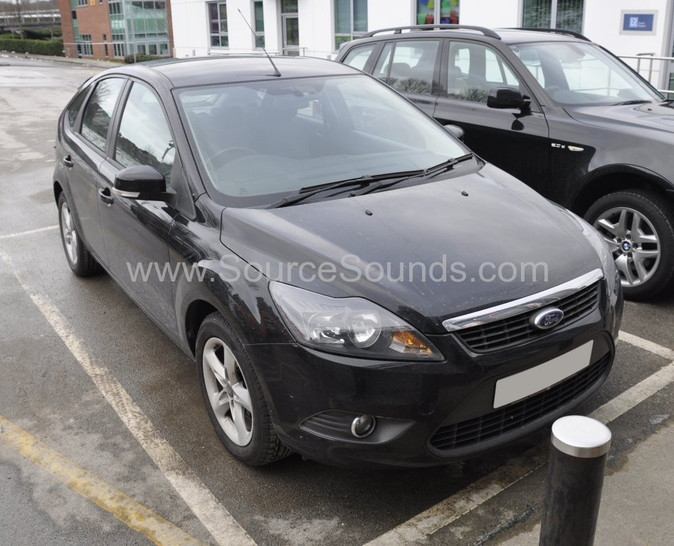 Ford Focus 2010 DAB stereo upgrade 001