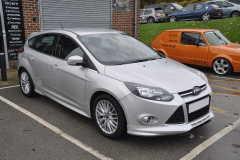 Ford Focus 2014 rear painted sensors 001