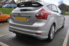 Ford Focus 2014 rear painted sensors 002