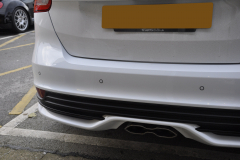 Ford Focus ST 2015 rear parking sensors upgrade 003