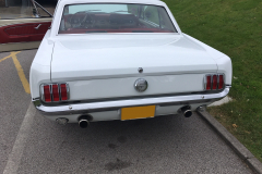 Ford Mustang 1966 audio upgrade 002