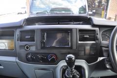 Ford Transit 2011 DAB screen upgrade DDX4017 003