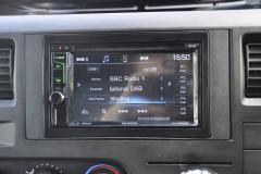 Ford Transit 2011 DAB screen upgrade DDX4017 004