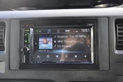 Ford Transit 2011 DAB screen upgrade DDX4017 005