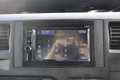 Ford Transit 2011 DAB screen upgrade DDX4017 006
