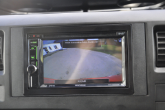 Ford Transit 2011 reverse camera upgrade 005