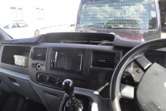 Ford Transit 2011 reverse camera upgrade 006