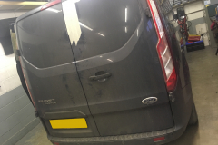 Ford Transit Custom 2014 dead bolts and security lock 001