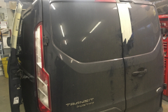 Ford Transit Custom 2014 dead bolts and security lock 002