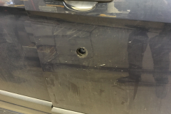 Ford Transit Custom 2014 dead bolts and security lock 004