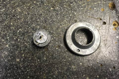 Ford Transit Custom 2014 dead bolts and security lock 005
