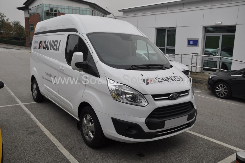 Ford Transit Custom 2017 Sortimo Danelli 001