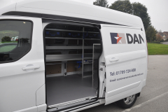 Ford Transit Custom 2017 Sortimo Danelli 007