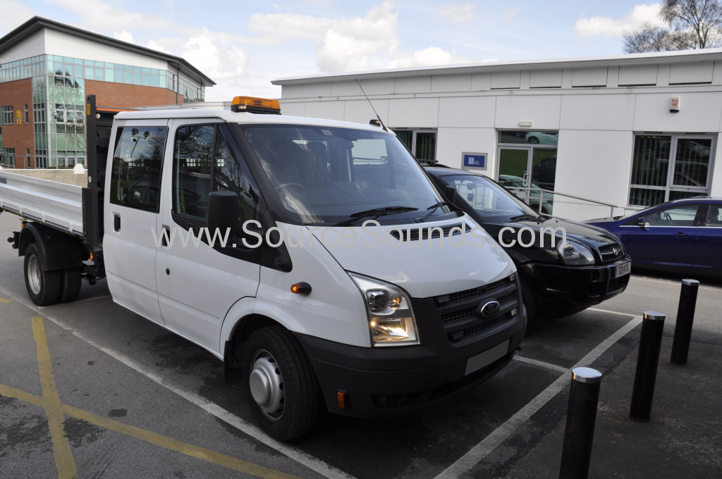 Ford Transit Tipper 2014 reveres camera and TV 001