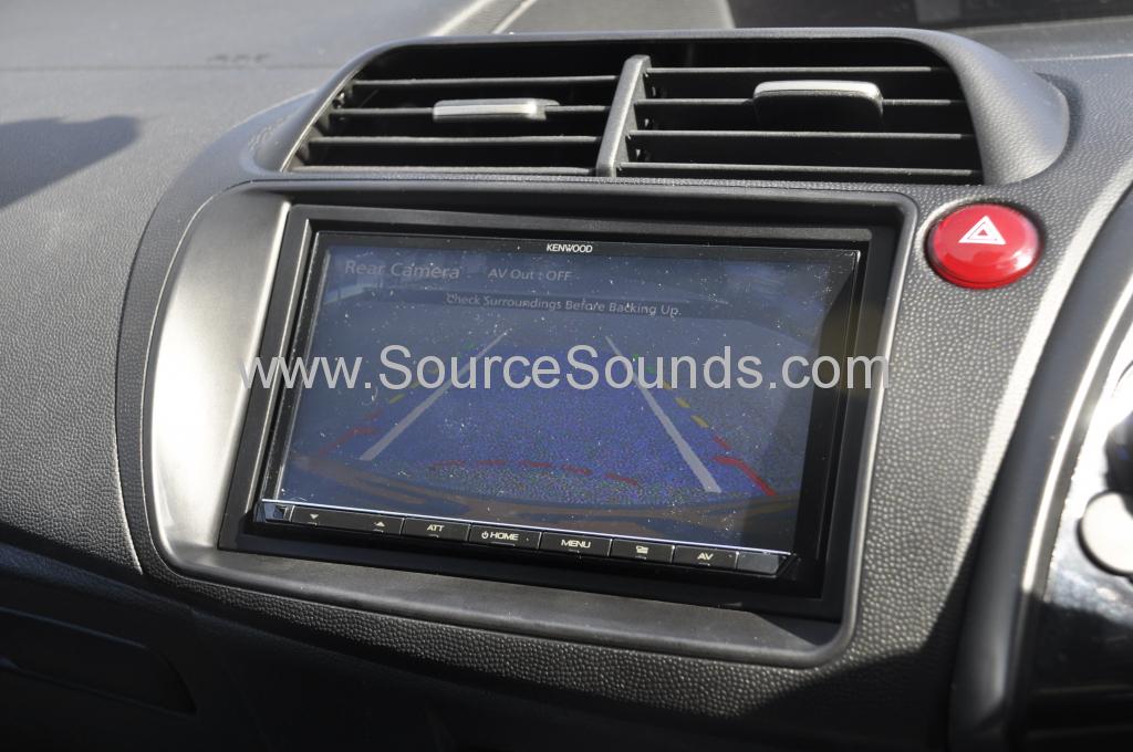 Honda Civic 2007 screen upgrade DMX 007