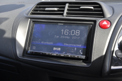 Honda Civic 2007 screen upgrade DMX 006