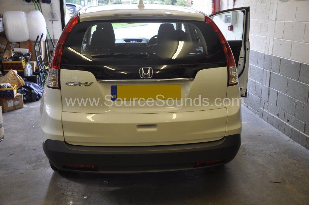 Honda CRv 2014 reverse sensor upgrade 001