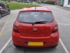 Hyundai i20 2012 rear sensor upgrade 002