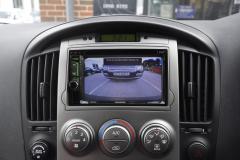 Hyundai i800 2011 reverse camera upgrade 005