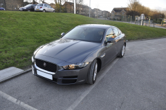 Jaguar XE 2015 front parking sensor upgrade 001