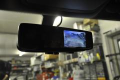 Kia Sorento 2012 reverse camera mirror monitor 005
