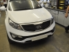 Kia Sportage 2012 rear sensor upgrade 001