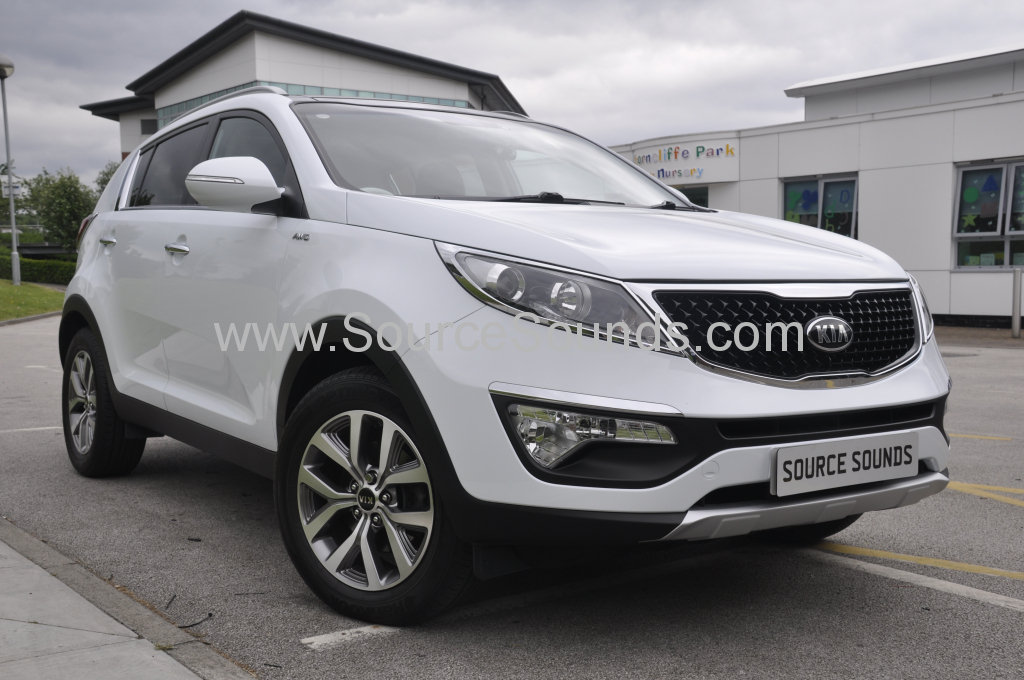 Kia Sportage 2014 DAB screen upgrade 001