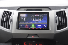 Kia Sportage 2014 DAB screen upgrade 002