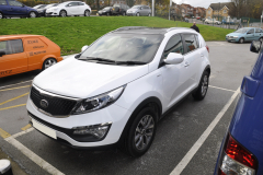 Kia Sportage 2014 reverse camera upgrade 001