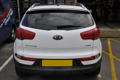 Kia Sportage 2014 reverse camera upgrade 002