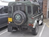 Landrover Defender 1998 reverse camera upgrade 002