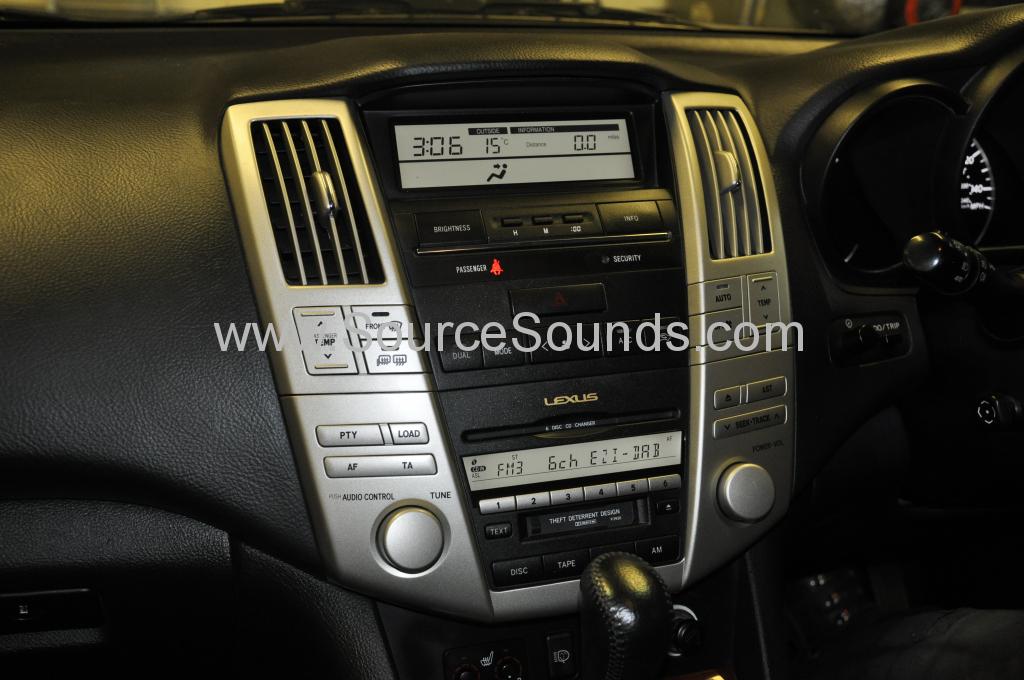 Lexus RX300 2004 EziDAB upgrade 002