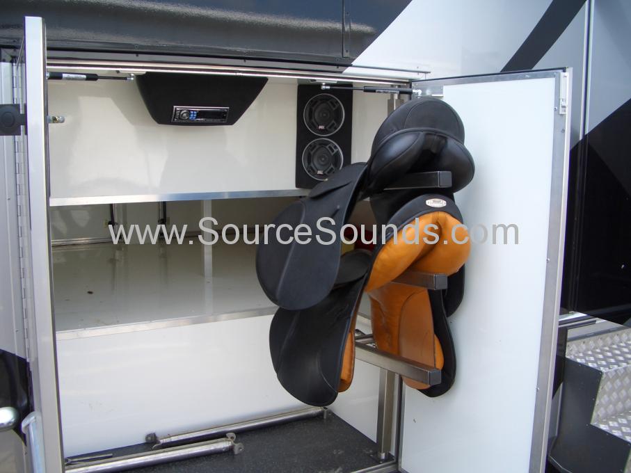 MAN 2006 Horse Box Audio Upgrade 006