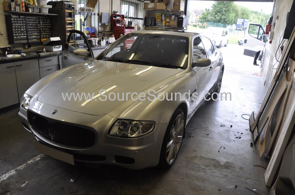 Maserati Quattroporte 2006 bluetooth upgrade 001