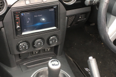 Mazda MX5 2007 DAB screen upgrade 006