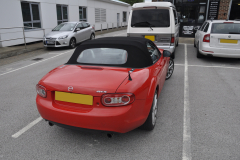 Mazda MX5 2010 DAB upgrade 002