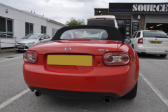 Mazda MX5 2010 reverse camera upgrade 002