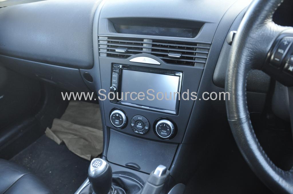 Mazda RX8 2006 DAB upgrade 003