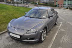 Mazda RX8 2006 DAB upgrade 001