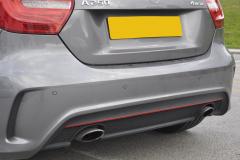 Mercedes A Class 2016 front n rear sensors 005