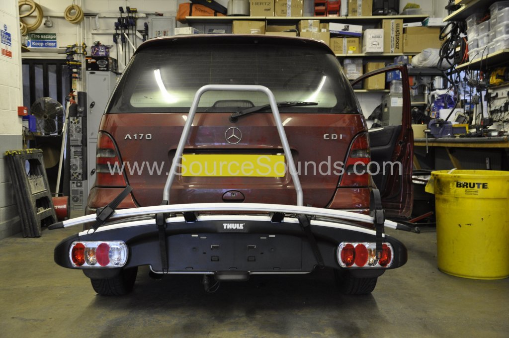 Mercedes A Class bike rack add on 001